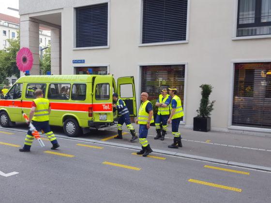 Bezirksübung Verkehr 2018